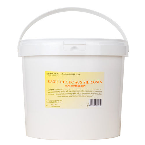 Elastomère de silicone polycondensation 30 shores - 1 kg PLUS 100 ml catalyseur lent